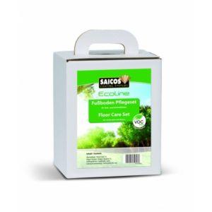 Saicos Ecoline 8310 – Floor Care Set – Zestaw do pielęgnacji i czyszczenia podłóg olejowanych